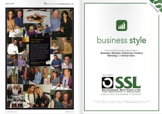 SSL Sponsors Business Style section of Cotswold Style Magazine
